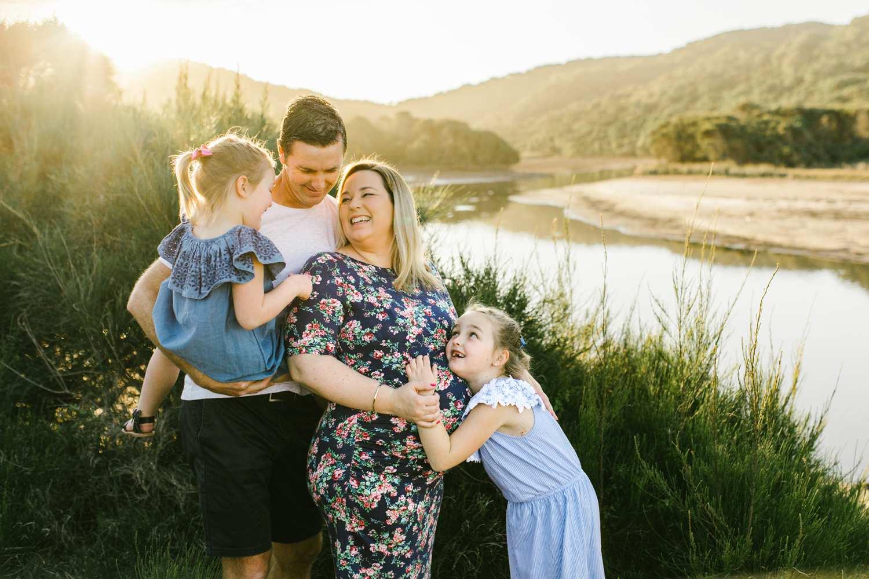 Sunset Maternity Session