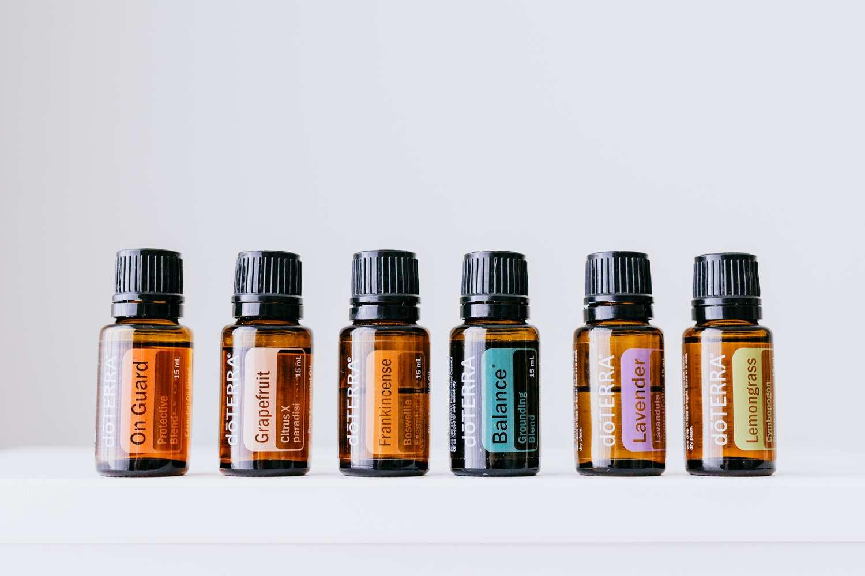 Doterra oils product shoot
