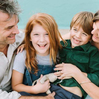 Family photography Newcastle Beach