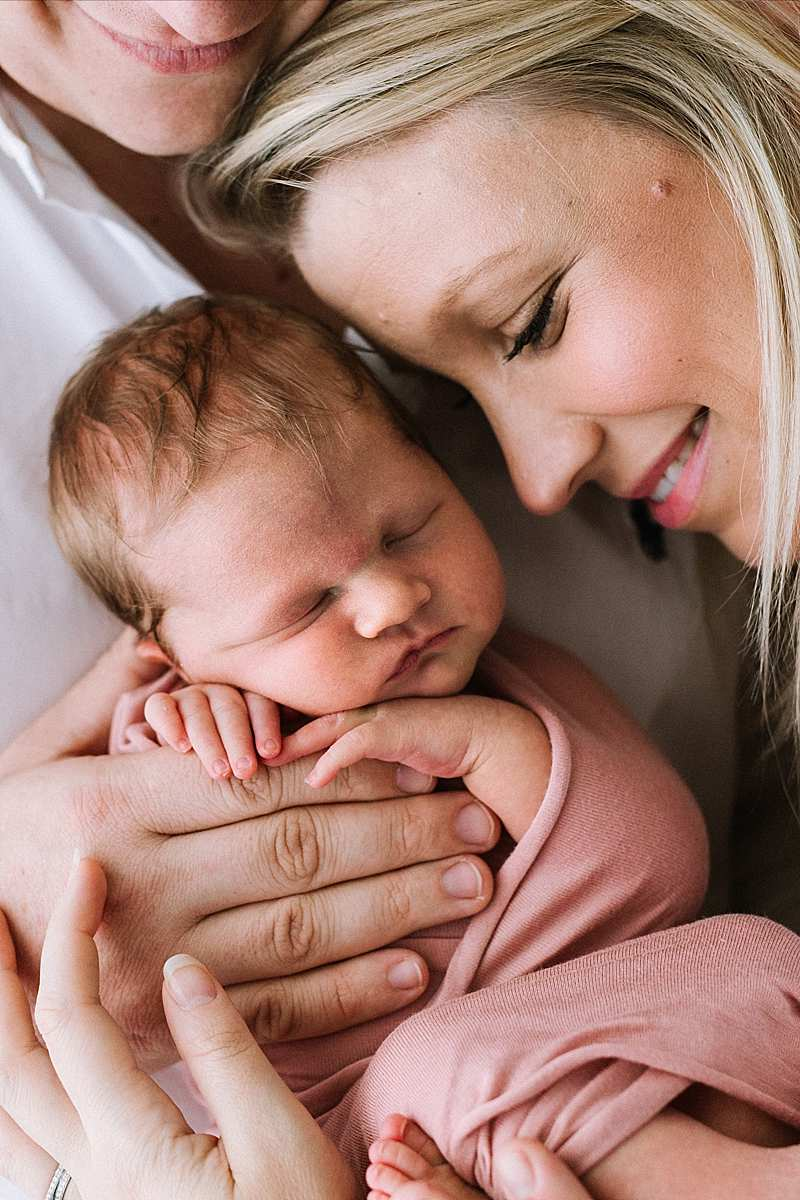 Newborn Baby hands