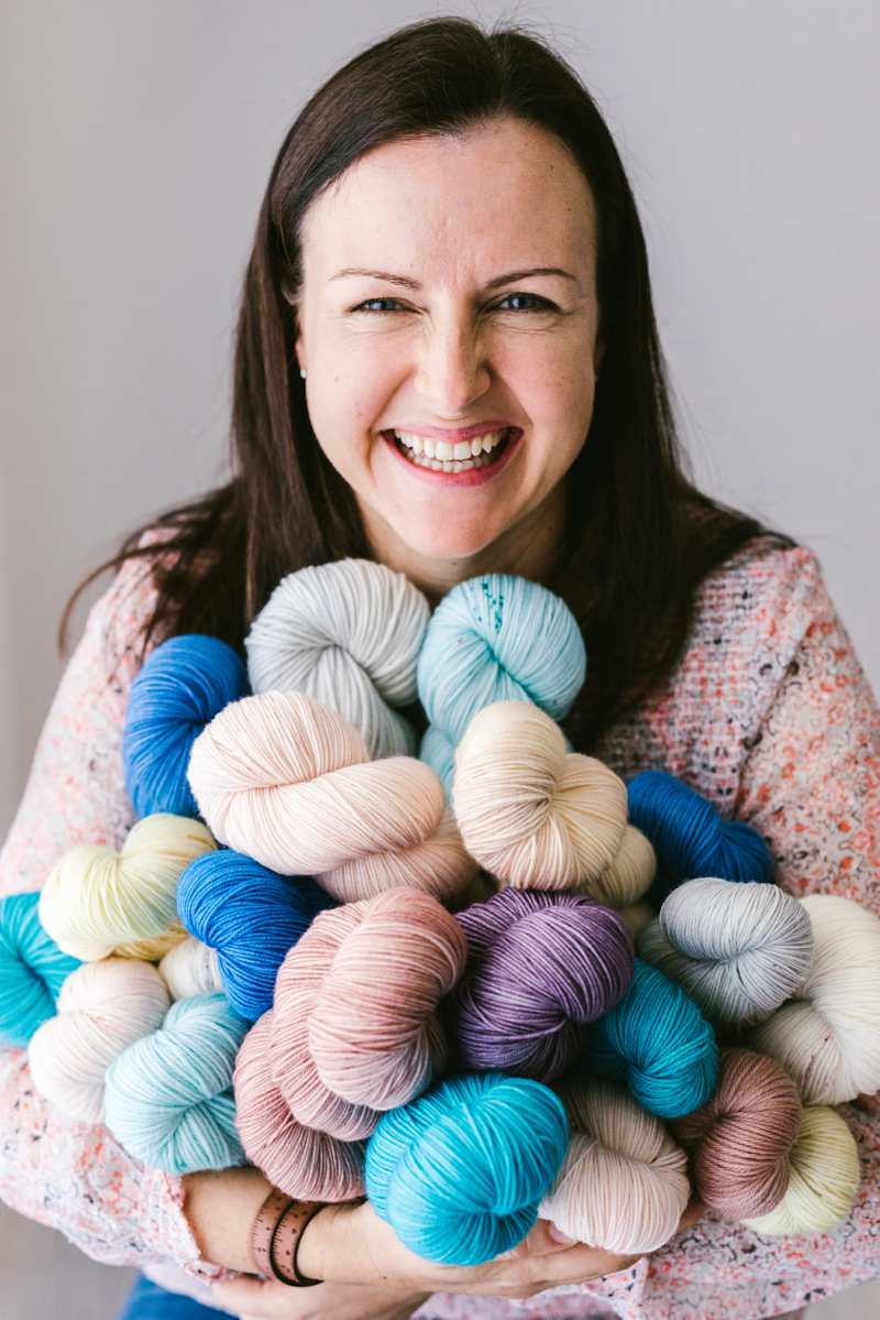 Headshot and yarn wool Photography
