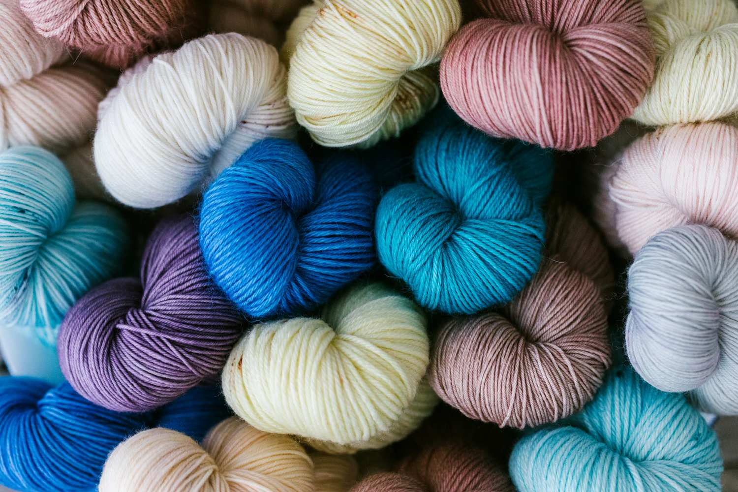 Yarn wool commercial photography